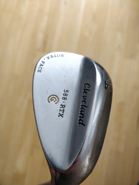 Wedge Cleveland 588 RTX Rotex face 54