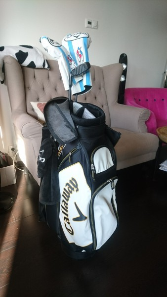 Callaway XR set  želez + set tří dřev + bag
