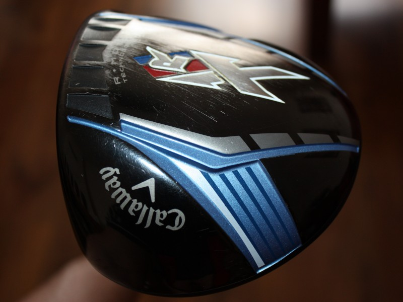 DRIVERY CALLAWAY XR  10, 5°  a  CALLAWAY FT-9 TOUR 10, 5° DRAW