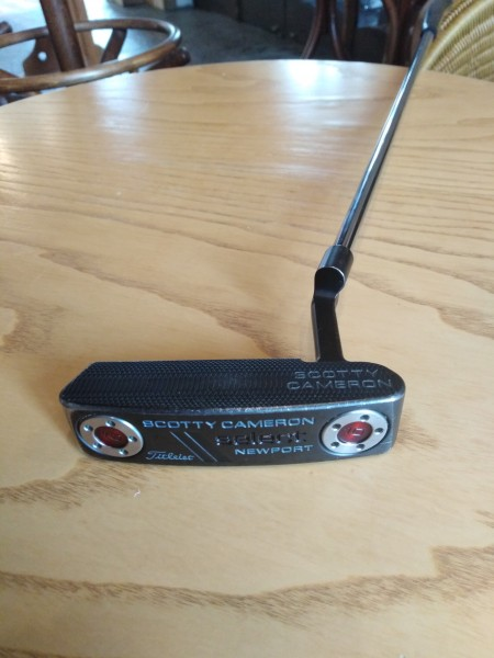 Putter SCOOTY CAMERON NEWPORT black