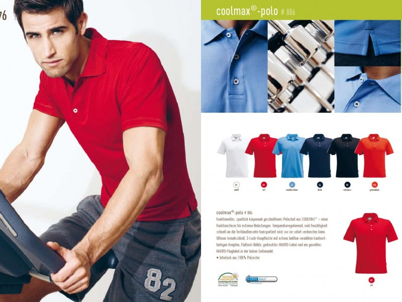 Nové Hakro golf polo triko coolmax Men vel. XS vč. visačky