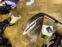 NOVÁ TaylorMade wedge Milled Grind HI-TOE 60°