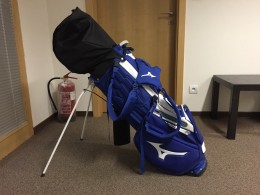 Mizuno DR 4HY 5-PW AW 55 59+stand bag